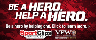 Sport Clips Haircuts of Littleton - Southbridge Plaza ​ Help a Hero Campaign
